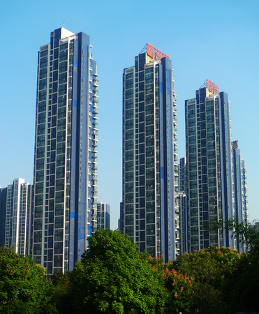 wuhan: Wuhan Street high-rise gezhouba dam real estate