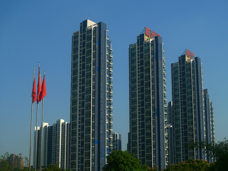 wuhan: Wuhan Street high-rise gezhouba dam real estate