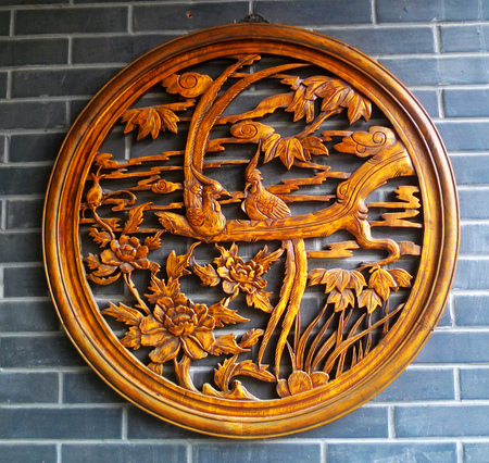 wood carving: Wood carving Editorial