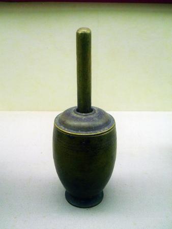 dynasty: Copper tube in Qing dynasty Editorial