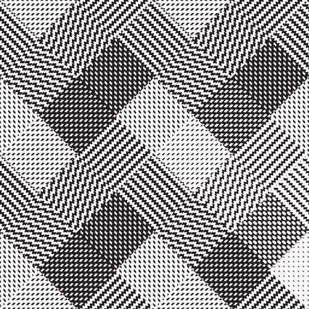 black foot: Black and white background, cloth vector pattern, goose foot