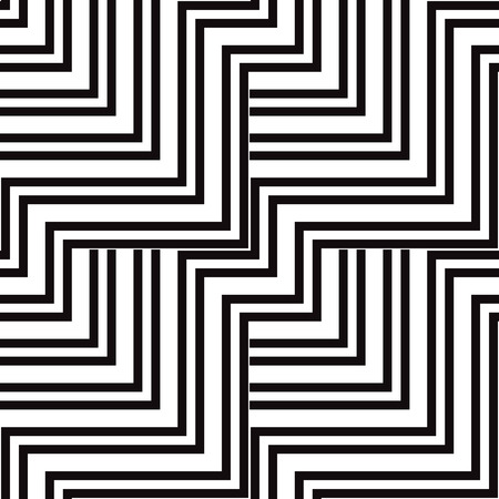 Black and white vector seamless pattern. Abstract background