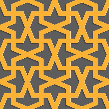 attern: Gometric ornamental pattern. Traditional Arabic seamless ornament. Abstract background Illustration