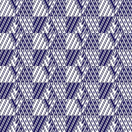 seamless, abstrait géométrique illustration, motif textile tissu