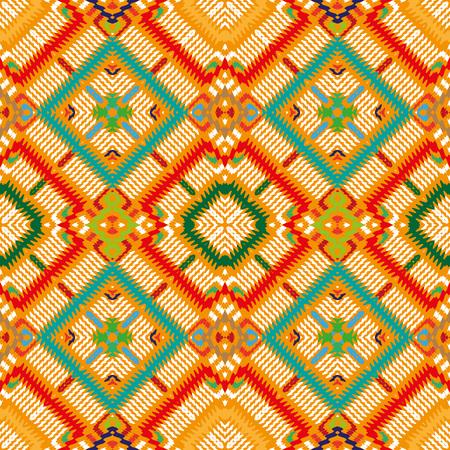 seamless pattern, abstract geometric background illustration, fabric textile pattern