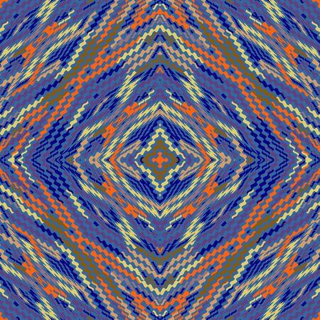 gobelin: seamless pattern, abstract geometric background illustration, fabric textile pattern