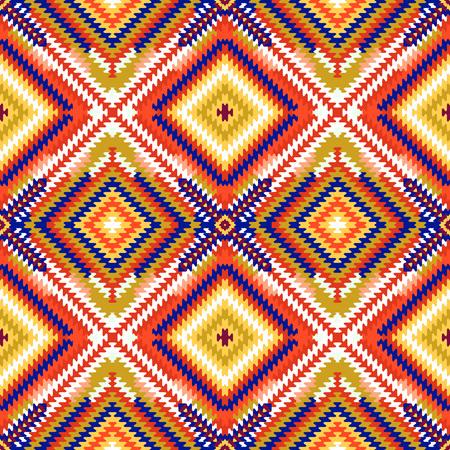 Nahtlose Muster, abstrakte geometrische Hintergrund Illustration, Stoff Textil Illustration