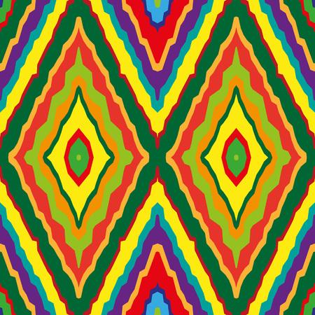 arcobaleno Geometric seamless. Semplice regolare sfondo spettro dei colori. illustrazione di vettore