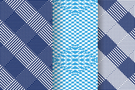 Set of Abstract patterns. Seamless geometric illustration, cloth vector backgrounds, fabric textile pattern