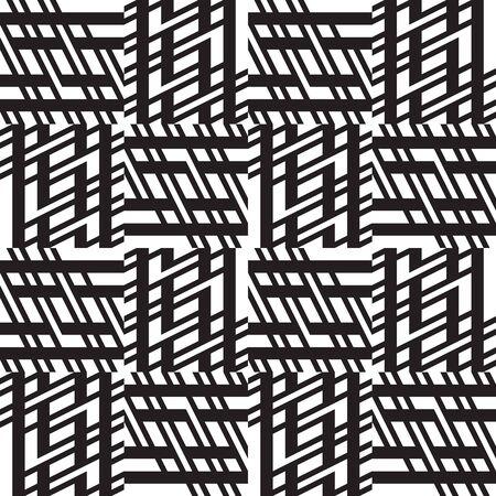 Vector seamless geometric pattern Abstract geometric seamless Ilustracja