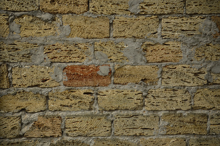 for designers: Wall masonry of large stones, background for designers