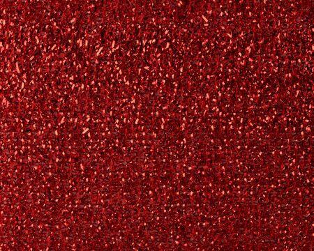 red kitchen sponge texture, full frame, macro