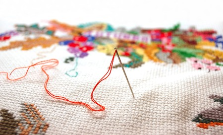 Needlework Stock Photo - 4336933