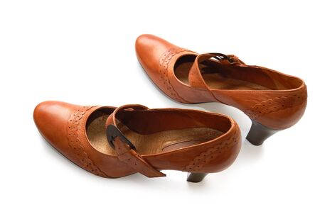 Pair of woman leather shoes Stock Photo - 4377192
