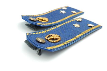 luitenant: Shoilder riem van Oekraïense senior luitenant (hemel kracht)