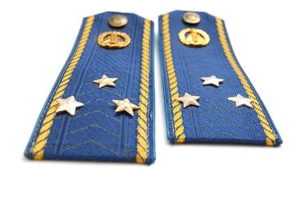luitenant: Shoilder band van Oekraïense senior luitenant (sky force)
