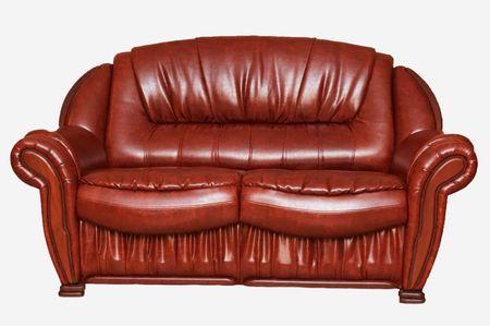 divan: Nueva aislados sof� de cuero blanco