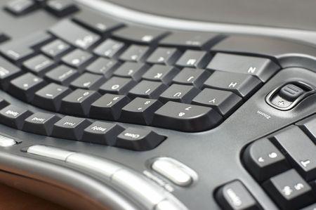teclado num�rico: Teclado ergon�mico