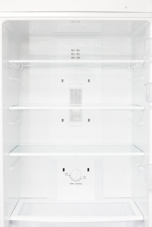 Empty refrigerator Stock Photo - 8522600