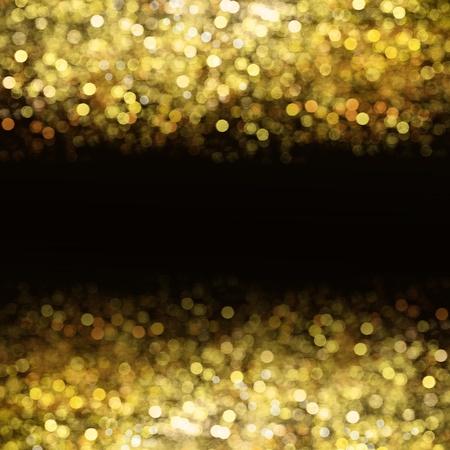 Abstract golden background with place for text photo