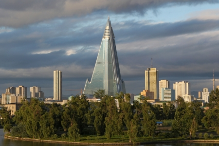 Ryugyong Hotel, North Korea, Pyongyang Editorial