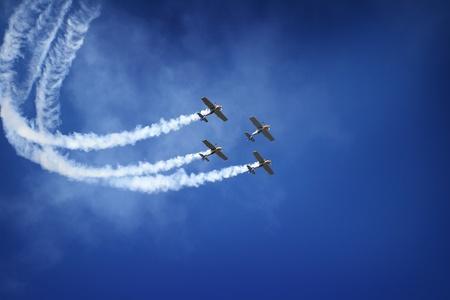 air show Standard-Bild