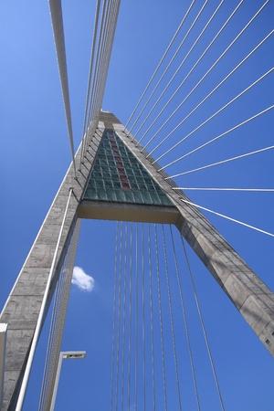 megyeri: Detail of bridge