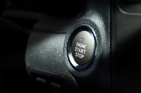 ateşleme: Start engine button