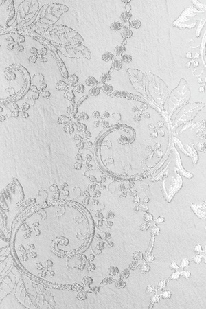 broderie: lustr�e tissu argent� �l�gant