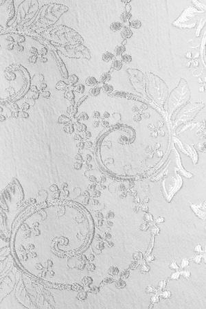 lustrous elegant silver fabric