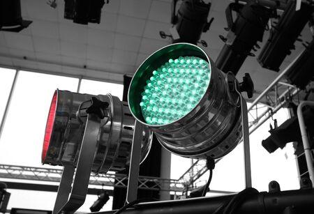 Studio lighting equipment high above Stock Photo - 17162826
