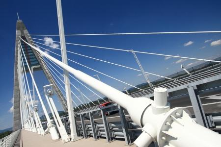 The Megyeri bridge detail - Hungary photo