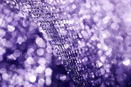 Lustrous elegant purple fabric - macro Stock Photo - 17432146