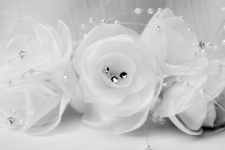 Beautiful brides jewelry - close up photo