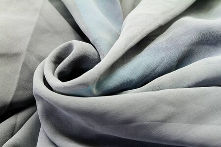 Gray textile background  close up  photo
