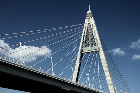 The Megyeri bridge  Hungary Stock Photo - 20286555