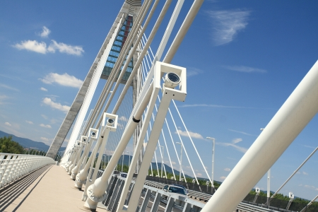 The Megyeri bridge  Hungary photo