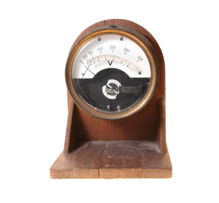 electricity meter: Old and obsolete electricity meter