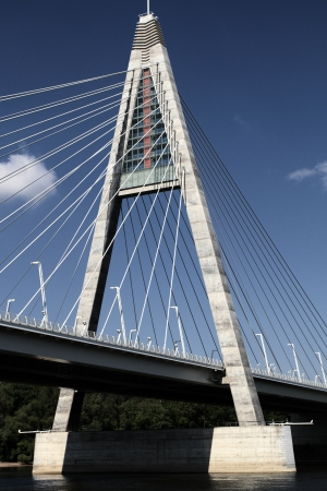 The Megyeri bridge. Hungary Stock Photo - 20533646