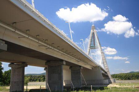 The Megyeri bridge. Hungary Stock Photo - 20533622