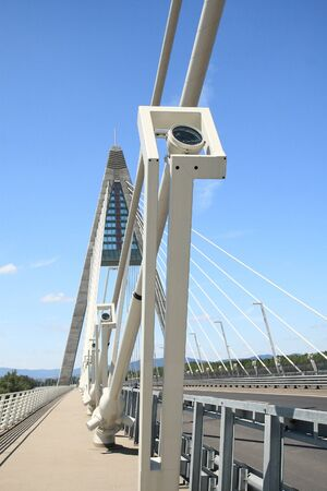 The Megyeri bridge. Hungary photo
