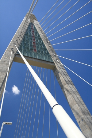 The Megyeri bridge. Hungary Stock Photo - 21041562