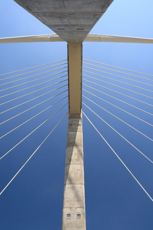 The Megyeri bridge. Hungary Stock Photo - 21060982