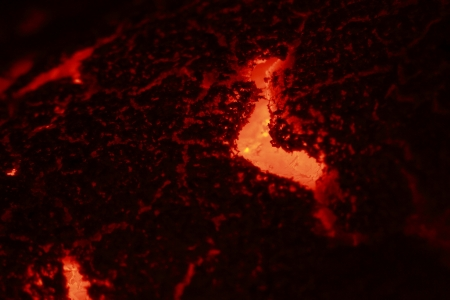 glut: Glut in hei�en roten Farbe
