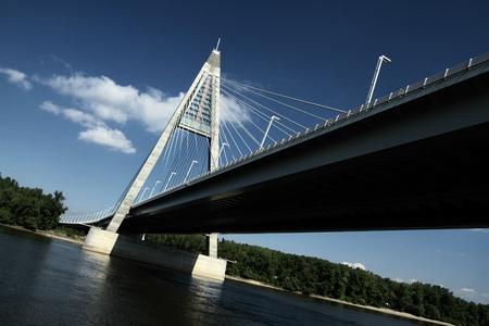 The Megyeri bridge. Hungary Stock Photo - 21354833