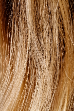 luxe: Long blond hair as background