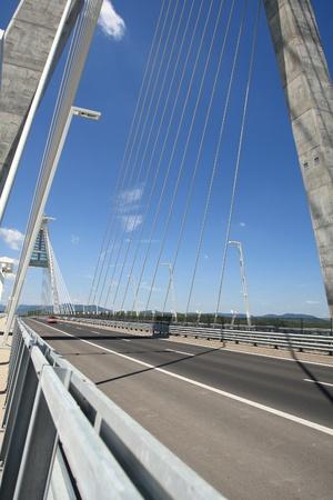 The Megyeri bridge. Hungary Stock Photo - 21662308