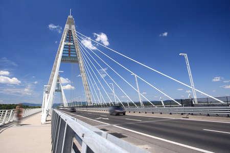 The Megyeri bridge. Hungary photo
