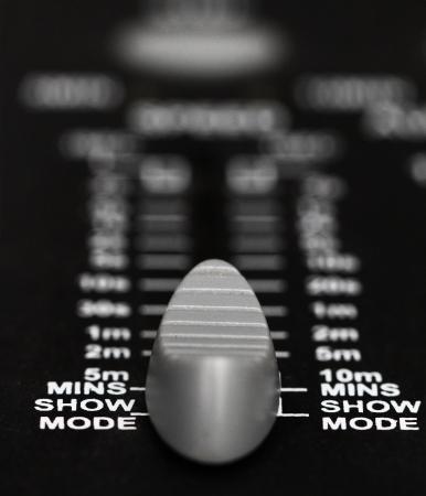 Recording Mixer - close up photo