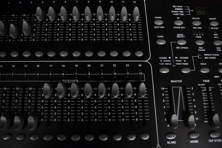 black jack: Recording Mixer - close up